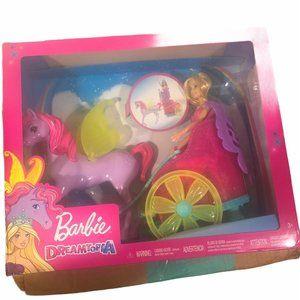 Barbie Dreamtopia Princess Horse and Chariot